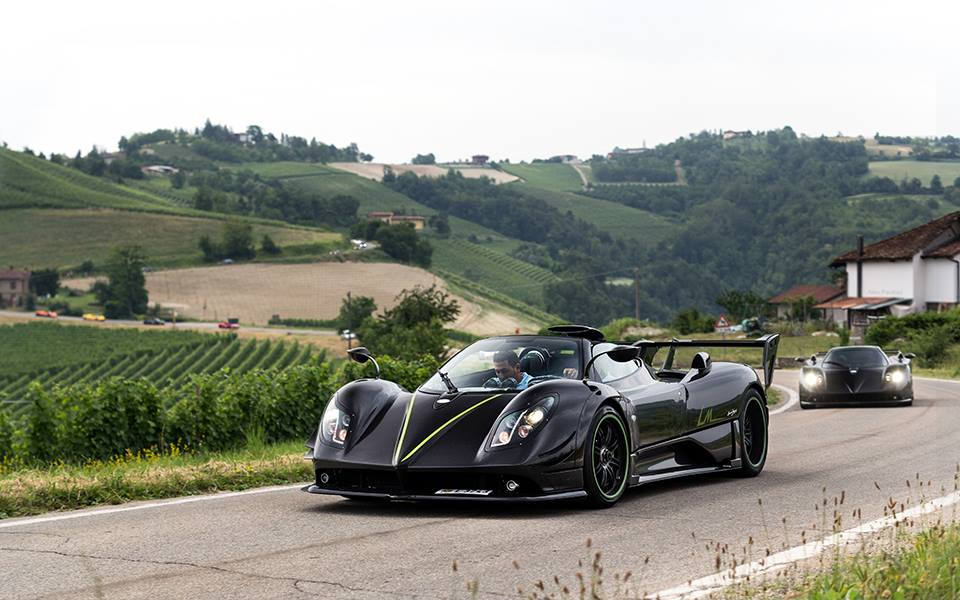 Pagani Zonda LM and Zonda Nero