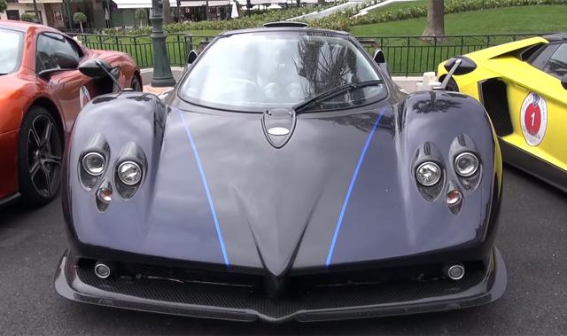 Pagani Zona 760VR Roadster in Monaco