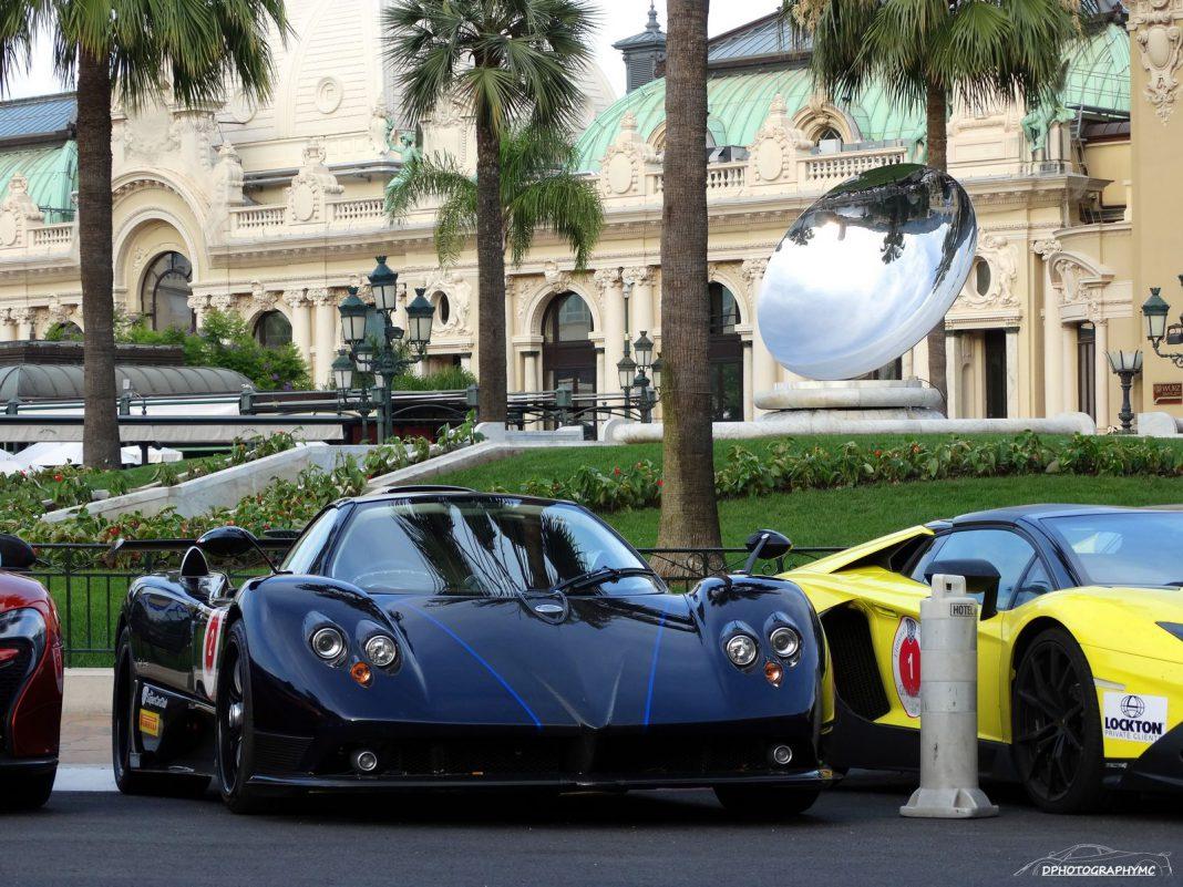 Pagani Zonda 760VR Roadster in Monaco