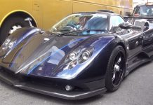 Pagani Zonda 760VR Roadster in London
