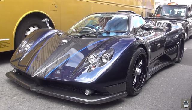 Pagani Zonda 760VR Roadster in London