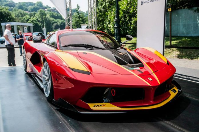 Parco Valentino 2015 Ferrari FXX K