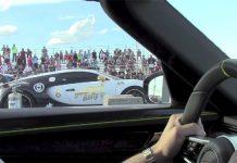 Porsche 918 Spyder vs Bugatti Veyron Super Sport drag race