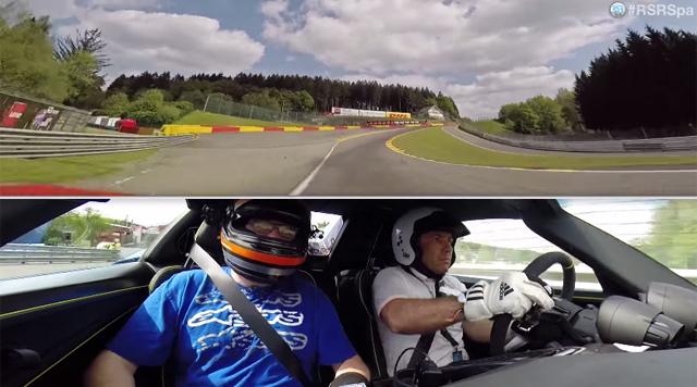 Porsche 918 Spyder hits Spa Francorchamps