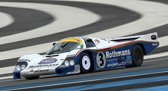 Le Mans winning Porsche 956 heading to auction