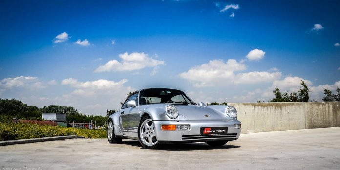 Rare Porsche 964 30 Jahre Edition For Sale in Belgium