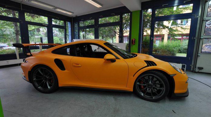 Racing Orange Matt Porsche 911 GT3 RS