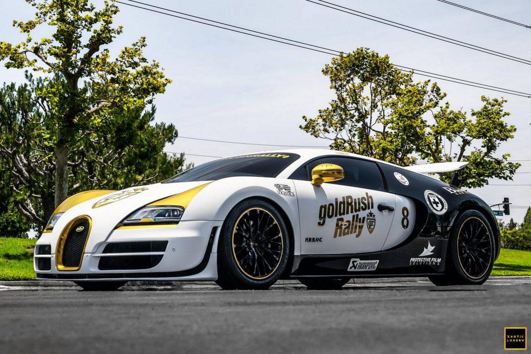 Bugatti Veyron Super Sport Pur Blanc aka Panda