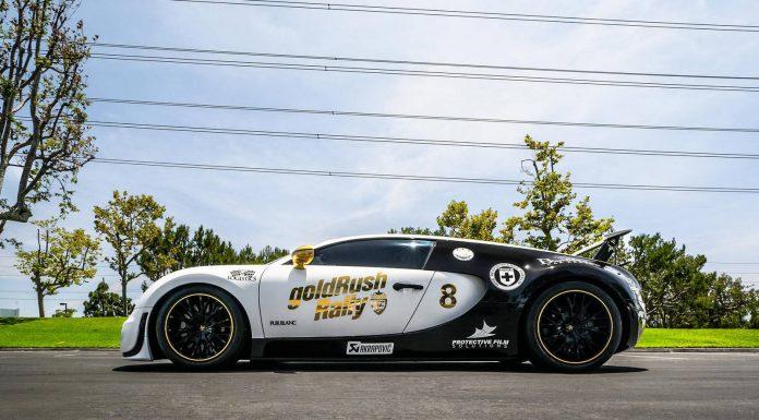 Goldrush rally 7 Bugatti Veyron Super Sport Pur Blanc
