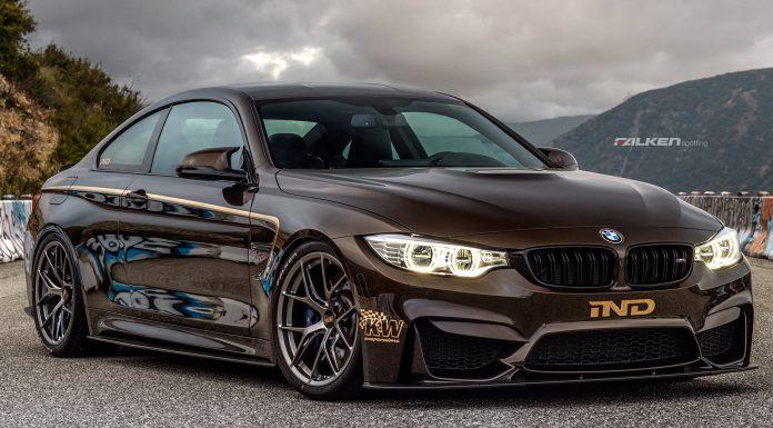 IND Creates Pyrite Brown BMW M4