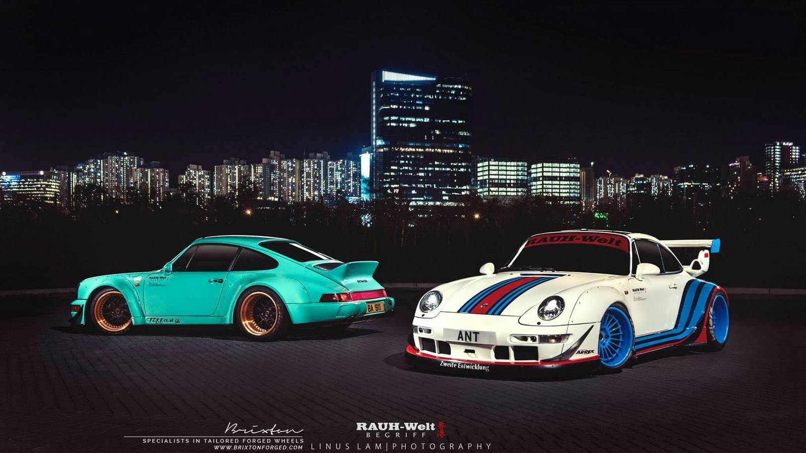 Photo Of The Day Double Rwb Porsche 911 In Hong Kong
