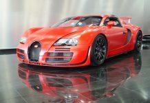 Unique red Red Bugatti Veyron For sale in Dubai