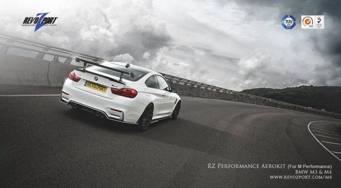 RevoZport BMW M3 & M4 Aerokit rear view