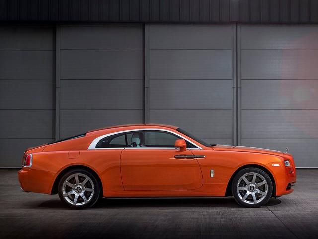 Bespoke Orange Metallic Rolls-Royce Wraith Revealed