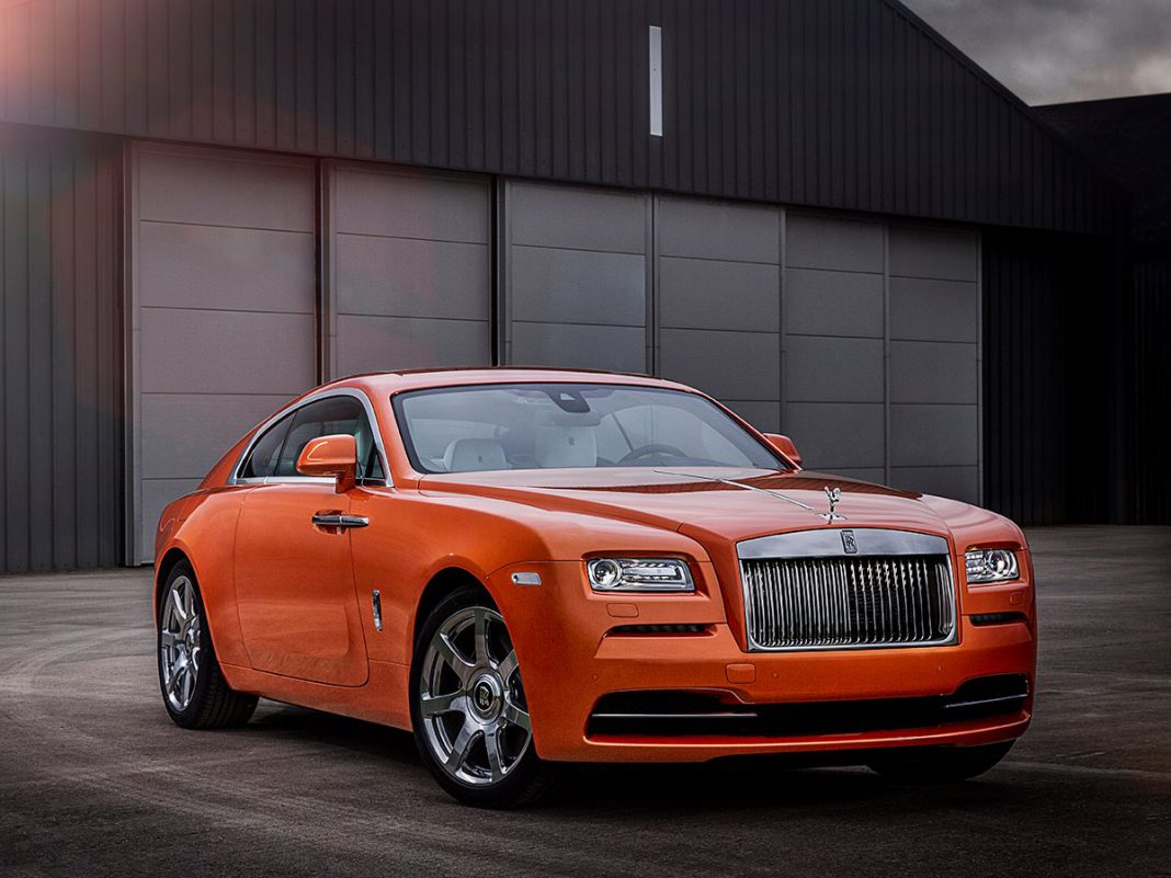 Bespoke Orange Metallic Rolls-Royce Wraith