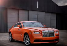 Bespoke Orange Metallic Rolls-Royce Wraith