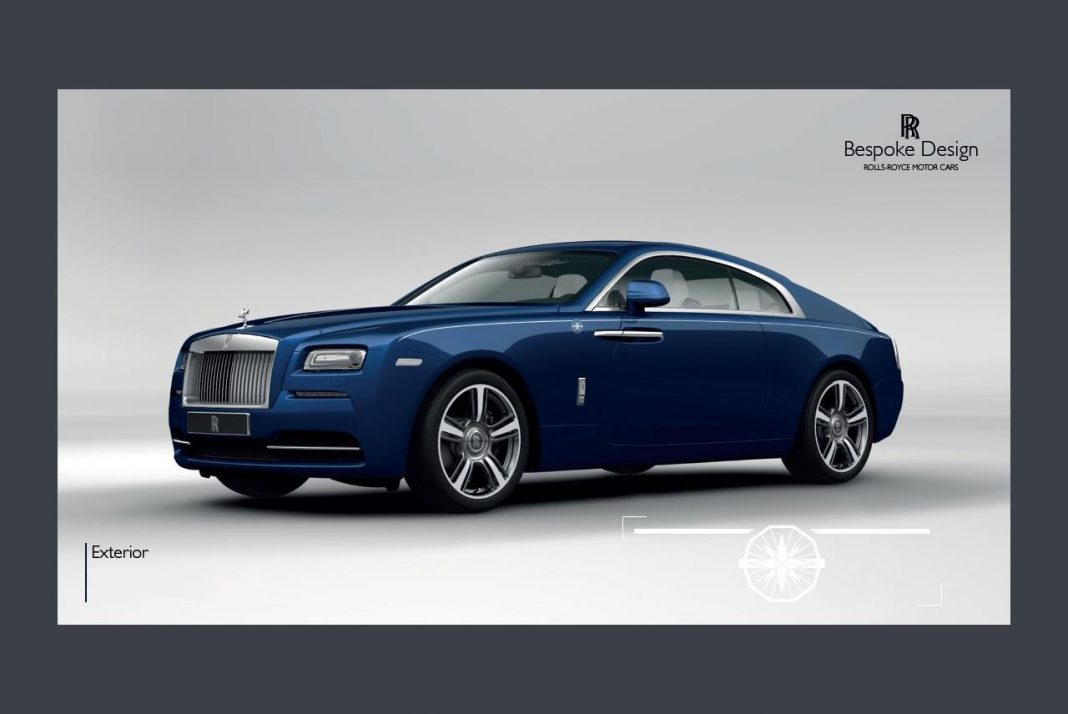 Rolls-Royce Wraith Porto Cervo revealed