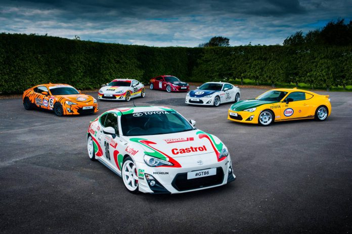 Toyota GT86 for Goodwood Festival of Speed 2015