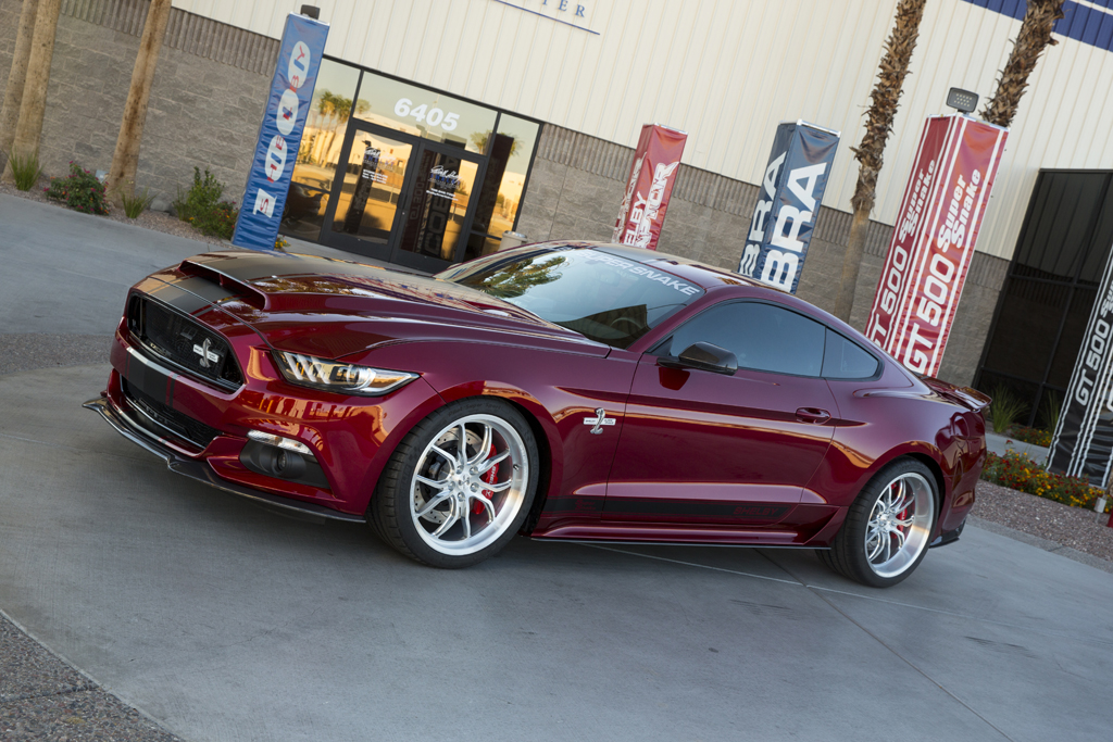 Official: 2015 Shelby Mustang Super Snake