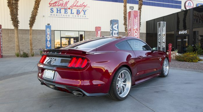 2015 Shelby Mustang Super Snake rear
