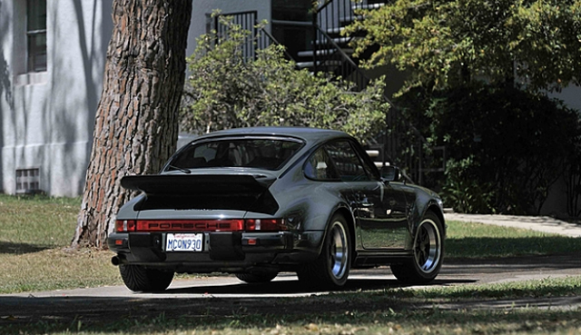 Steve McQueen's Porsche 911 Turbo auction rear