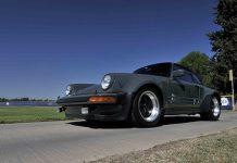 Steve McQueen's Porsche 911 Turbo auction front