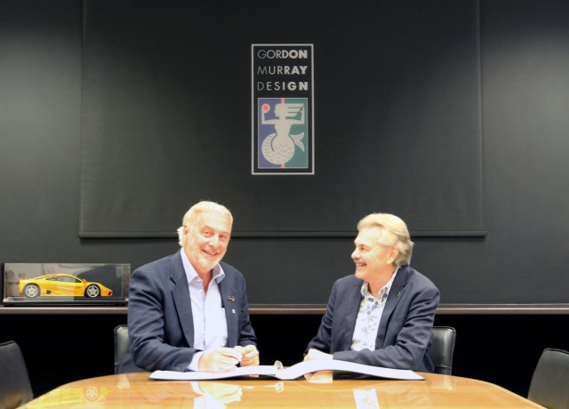 TVR and Gordon Murray