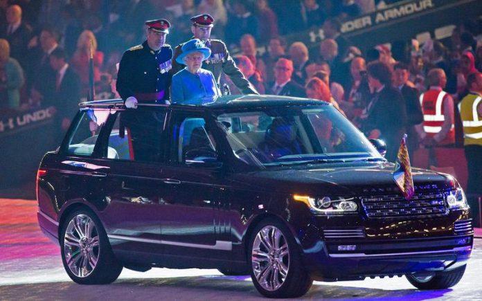 The Queen's Range Rover SVO