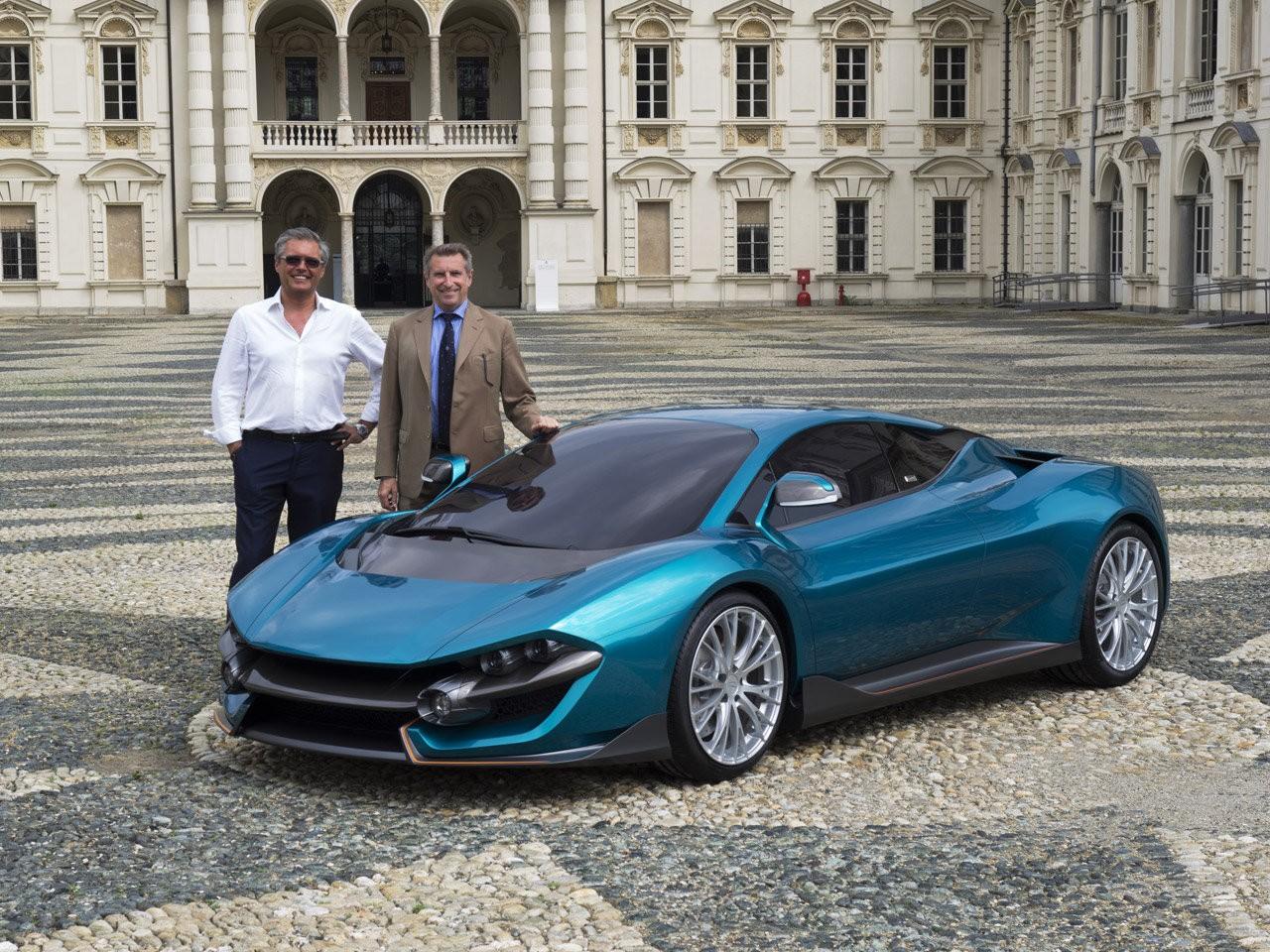 Torino Design ATS Wildtwelve Concept revealed at Parco Valentino
