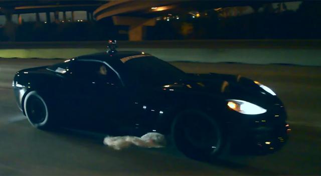 Crazy 2400hp Chevrolet Corvette on the streets