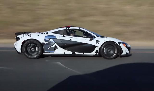 Deadmau5 McLaren P1 on Gumball 3000