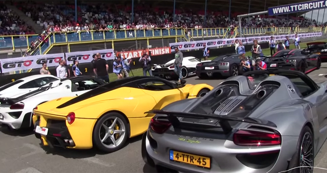 Video Hypercars Come Out In Force At Supercar Sunday Gtspirit