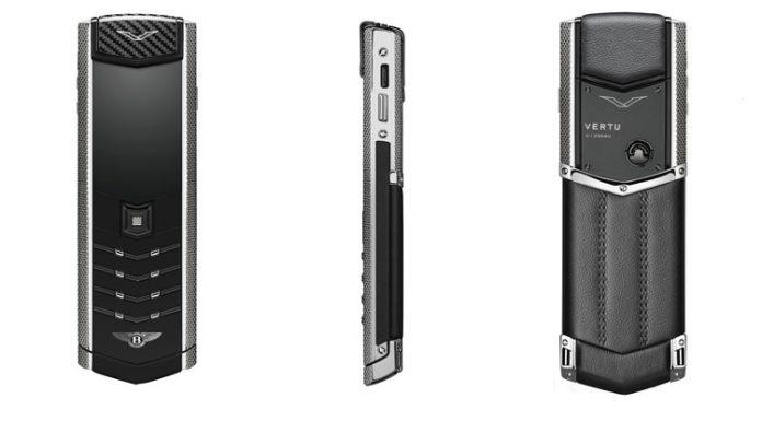 Vertu Bentley phone revealed