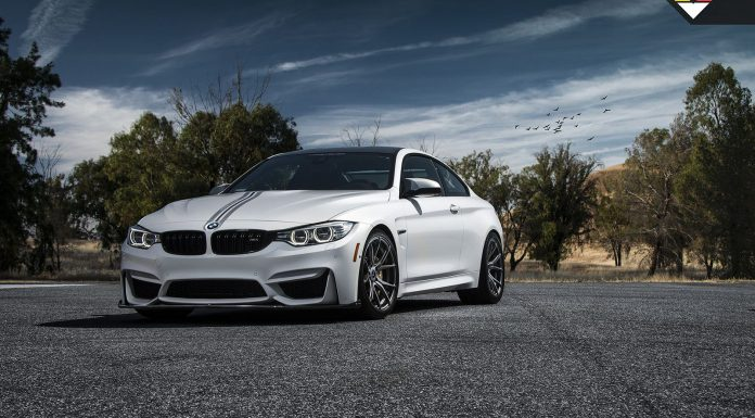 BMW M4 receives Vorsteiner parts