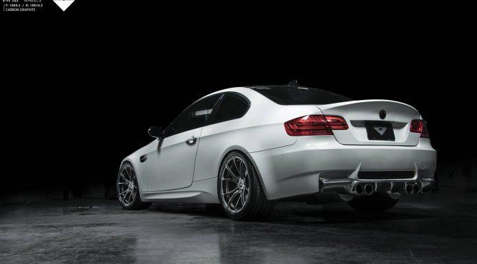 BMW E92 M3 with Vorsteiner Wheels