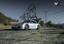 Porsche 911 Carrera Vorsteiner side view