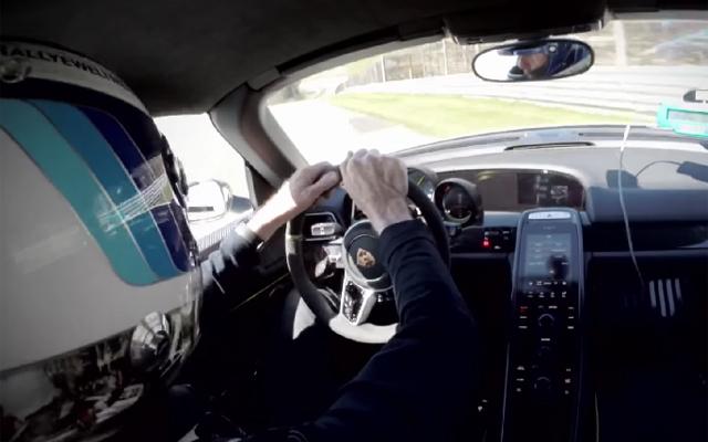 Walter Rohrl Crashes Porsche 918 Spyder Weissach