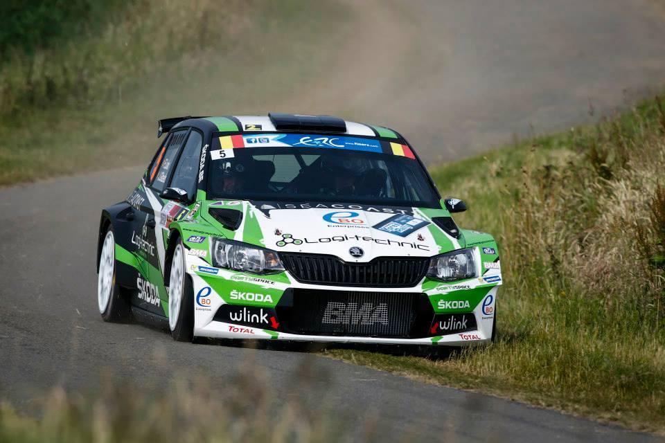 FIA ERC: Skoda Wins Ypres Rally as Citroen Claims Double Podium