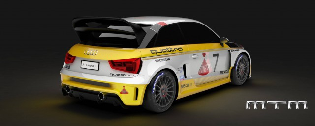MTM Audi S1 quattro Group B Rear