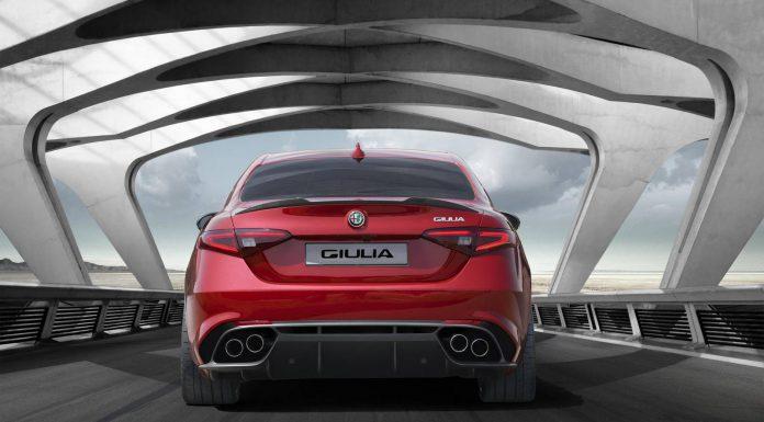 Alfa Romeo Giulia Rear