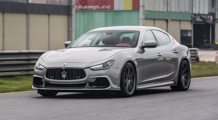 ASPEC PPM500 Maserati Ghibli front