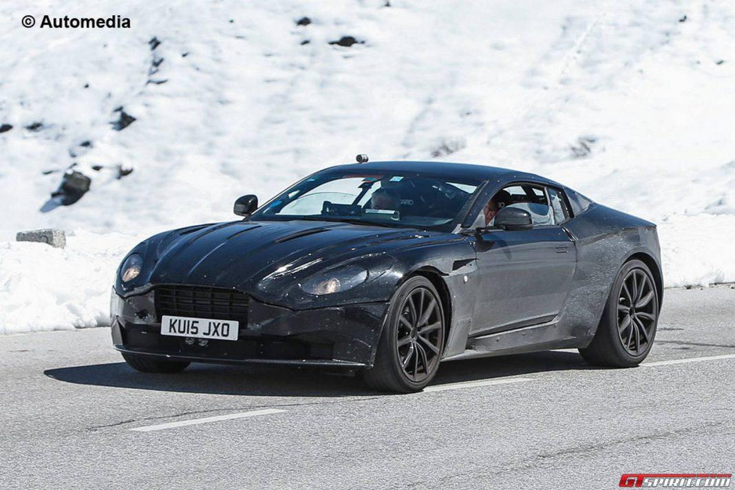 2017 Aston Martin DB11 Spy Shots