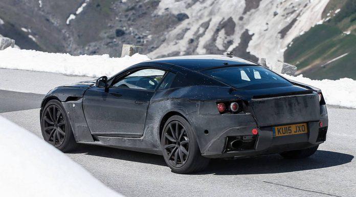 2017 Aston Martin DB11 Spy Shots at the Austrian Alps