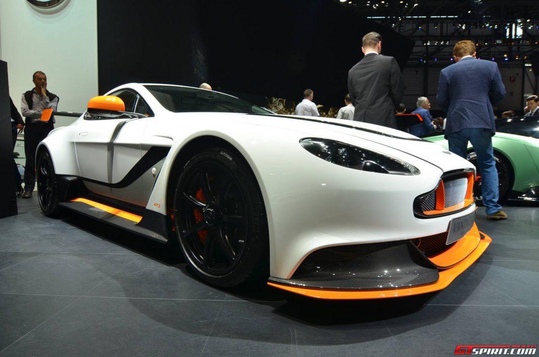 Aston Martin Vantage GT12 heading to Goodwood Festival of Speed 2015