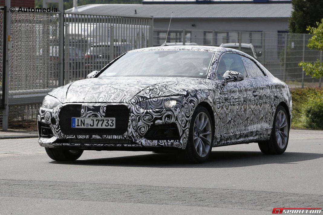 First Spy Shots of the Next-Gen Audi A5
