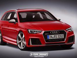 Next-gen Audi RS4 rendered