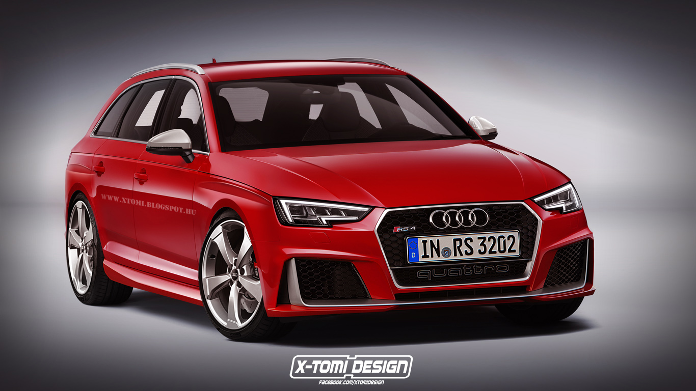 Next Gen Audi Rs4 Comes To Life Gtspirit