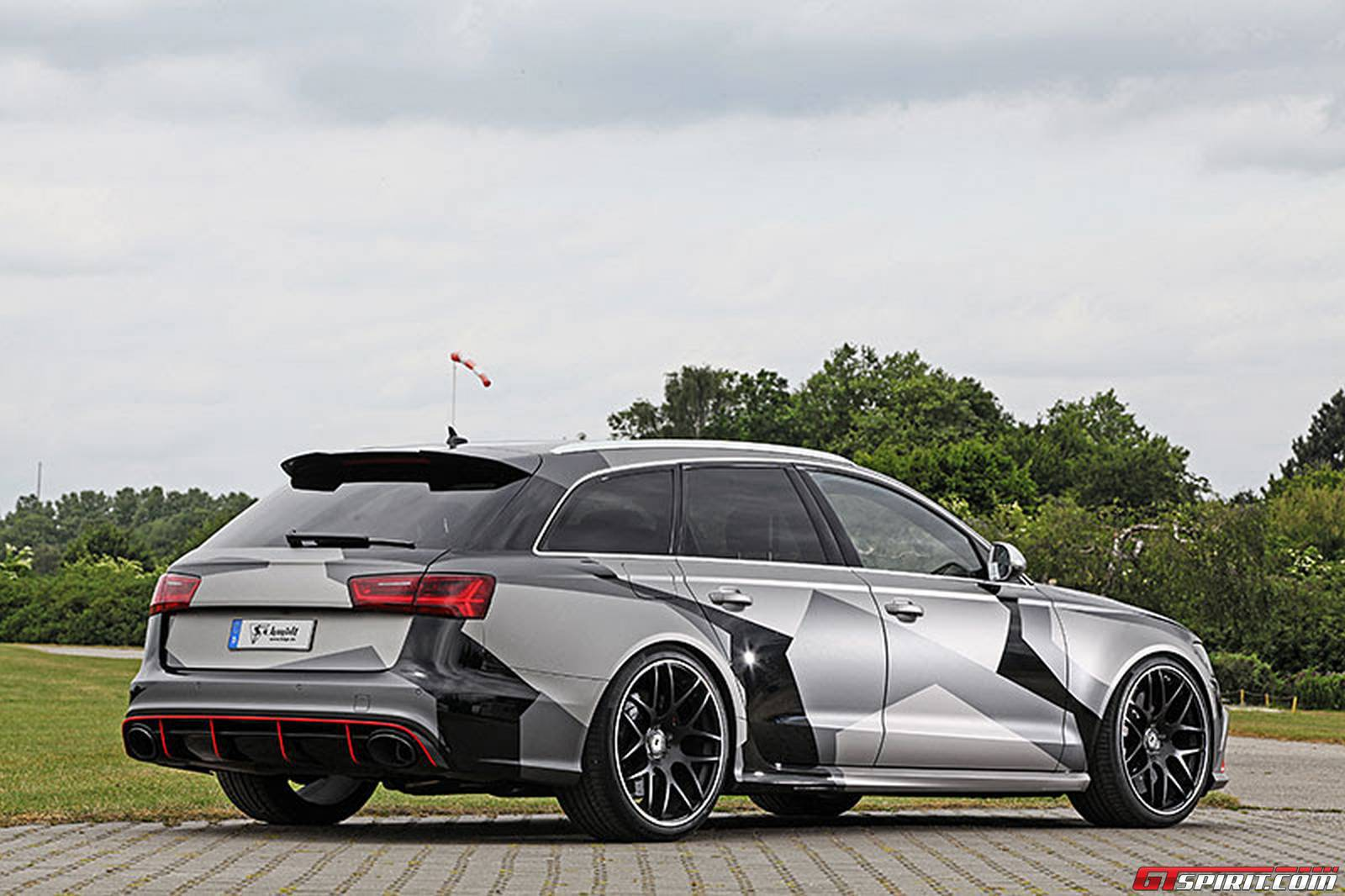 official audi rs6 avant by schmidt revolution gtspirit. Black Bedroom Furniture Sets. Home Design Ideas