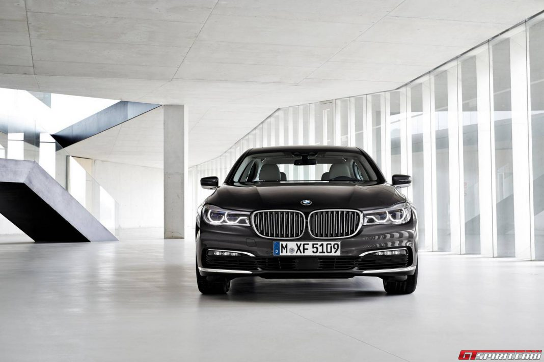 2017 BMw 7 Series front view