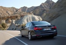 2017 BMw 7 Series rear